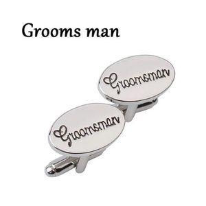 Groomsman Bridal Party Cuff Links